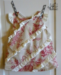 Strawberries and Cream Dress
