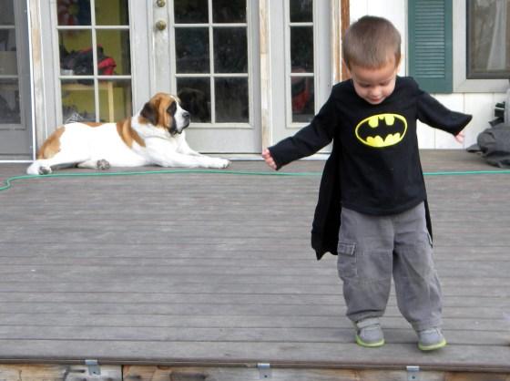Batman Caped Shirt