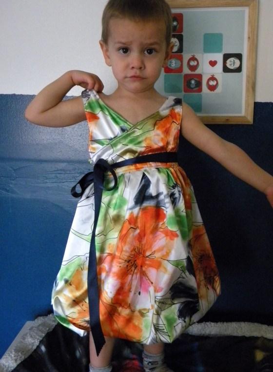 Martha Bubble Wrap Dress