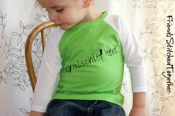 The Mischief Shirt {{FriendsStitchedTogether.Wordpress.com}}