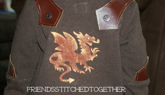The Knight and The Dragon {{FriendsStitchedTogether.Wordpress.com}}