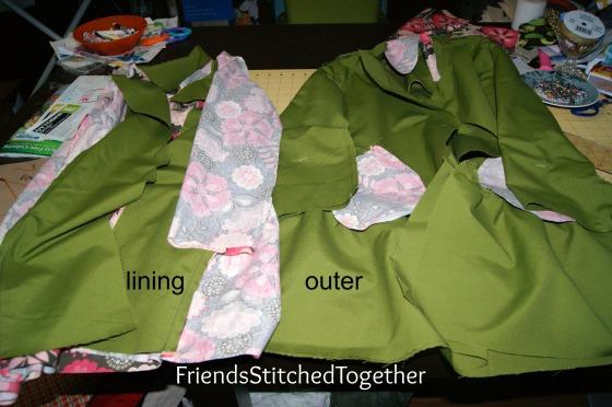 Magic Coat Sleeve Trick {{FriendsStitchedTogether.com}}