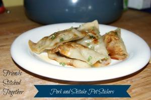 Pork and Shitake Pot Stickers - Tasty Tuesday {{FriendsStitchedTogether.Wordpress.com}}
