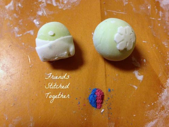 Sweet Pea Baby Shower Cake {{FriendsStitchedTogether.Wordpress.com}}
