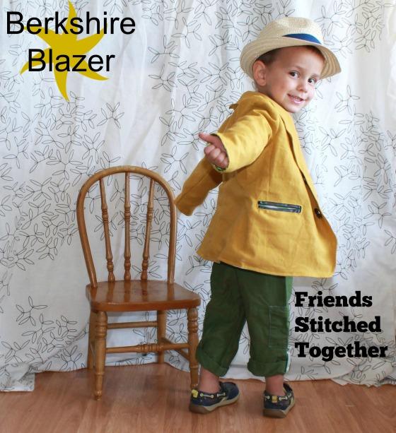 Berkshire Blazer {{FriendsStitchedTogether.com}}