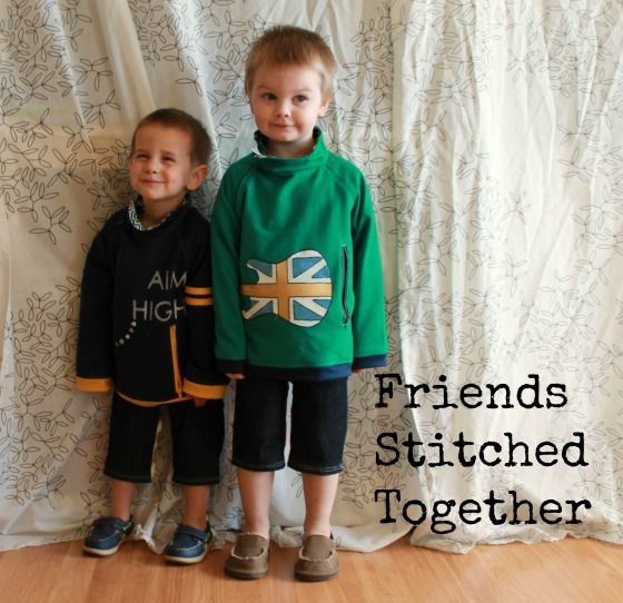 All About the Boys - Signature Style {{FriendsStitchedTogether.com}}