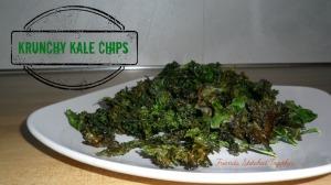 Tasty Tuesday - Krunchy Kale Chips {{FriendsStitchedTogether.wordpress.com}}