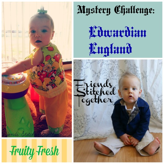 Mystery Challenge: Fruity Fresh and Edwardian England {{FriendsStitchedTogether.wordpress.com}}